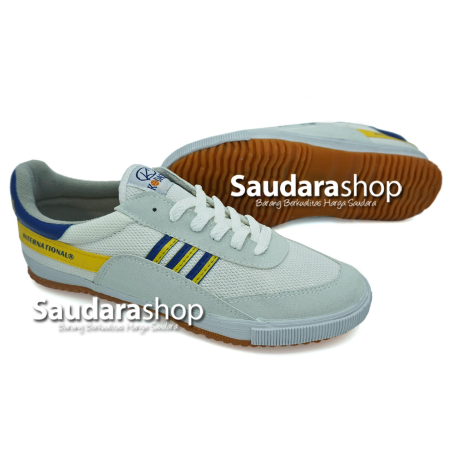 Kodachi 8116 Sepatu Capung Putih Biru Kuning [34-45] / Sepatu Capung